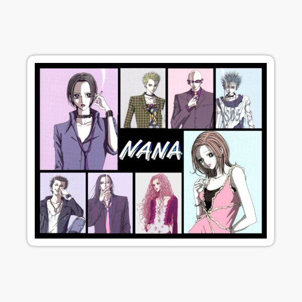 Personnages de manga Nana Anime Sticker