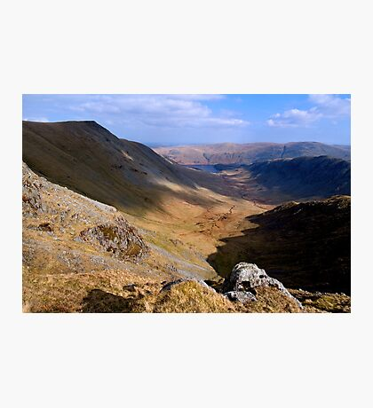 Riggindale from High Street - The Lake District Photographic Print