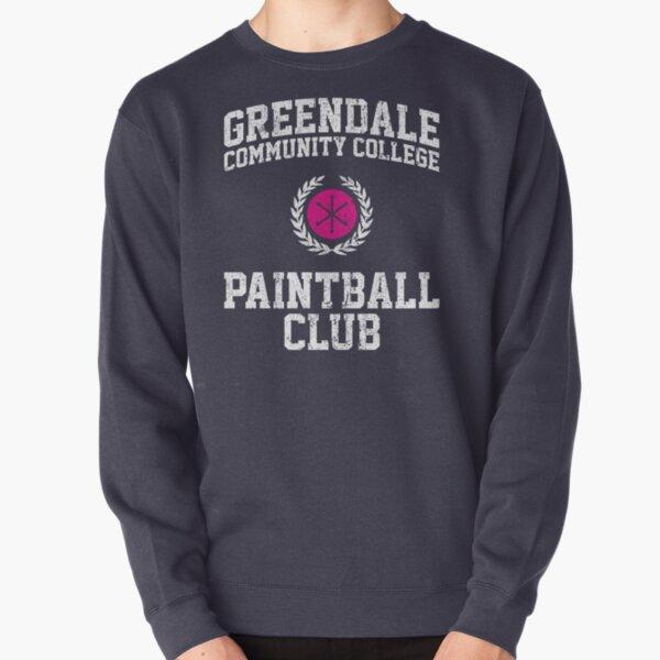 Greendale Community College Paintball Club Pullover Sweatshirt