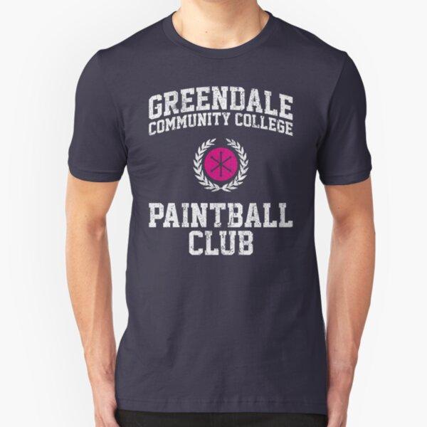 Greendale Community College Paintball Club Slim Fit T-Shirt