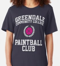 Greendale Community College Paintball Club Slim Fit T-Shirt
