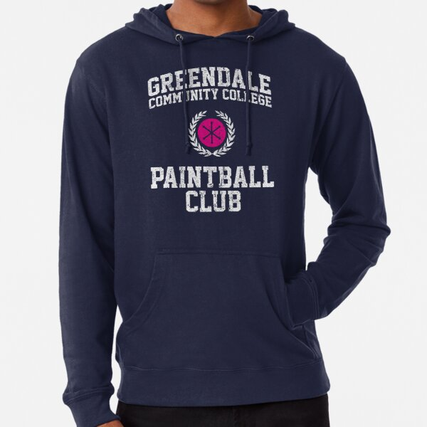 Greendale Community College Paintball Club Lightweight Hoodie