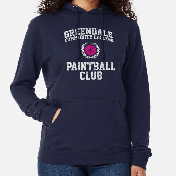 Greendale Community College Paintball Club Lightweight Hoodie