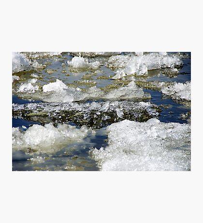 Ice run Photographic Print