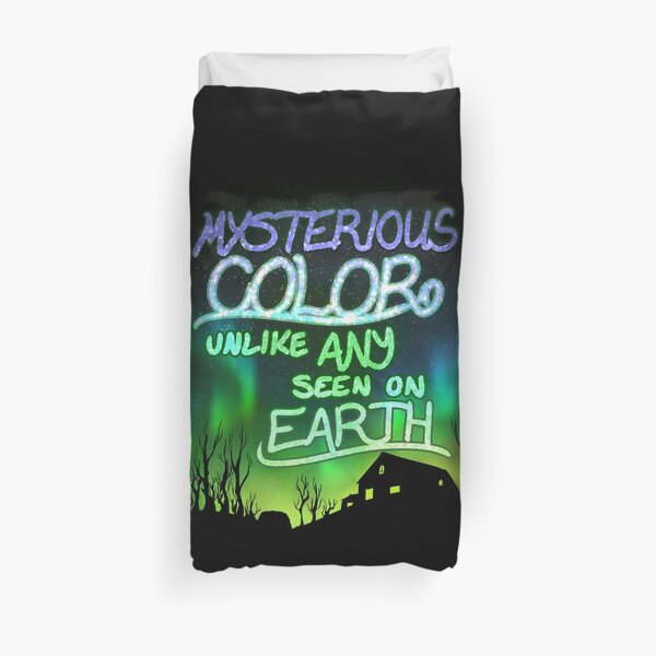 Mysterious Color Unlike Any Seen On Earth Duvet Cover