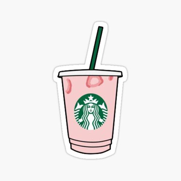 Bebida rosa Pegatina