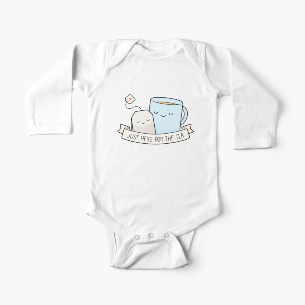 Just Here For The Tea Baby One-Piece