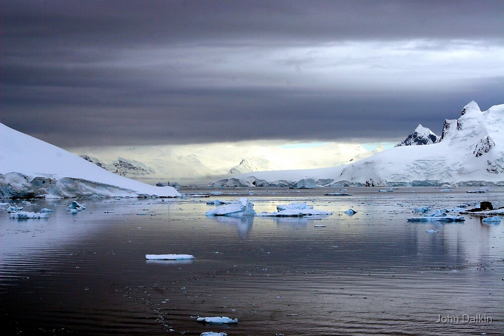 Antarctic Sunrise by John Dalkin