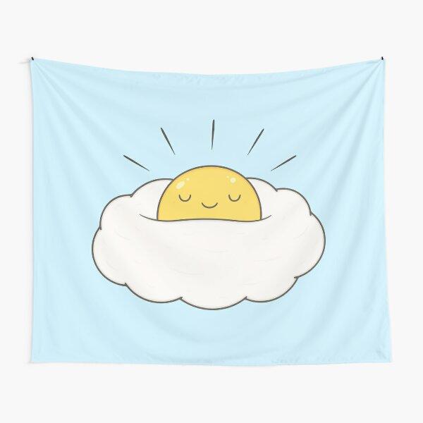Sonnenschein zum Frühstück / Eiwolke Wandbehang