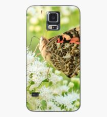 Painted Lady Butterfly Case/Skin for Samsung Galaxy