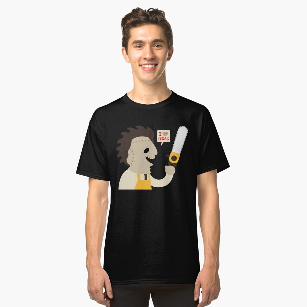 I Love Texas Classic T-Shirt Front