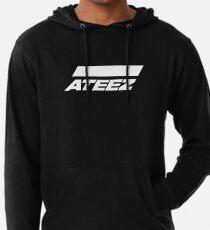 ATEEZ Logo (White) Lightweight Hoodie