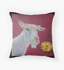 Flower Girls Throw Pillow
