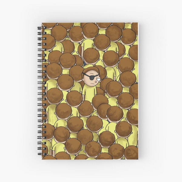 Evil Morty | Rick and Morty Spiral Notebook