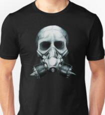 Gas mask Skull Unisex T-Shirt