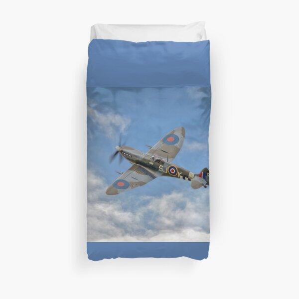 Spitfire LF IX 126 Squadron Duvet Cover