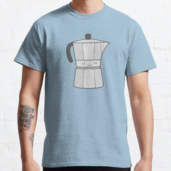 magia y arte de hacer café / espresso.  Camiseta clásica