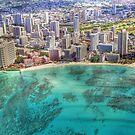 Waikiki by Sky by Bradley Old