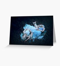 Gemini - twin souls Greeting Card
