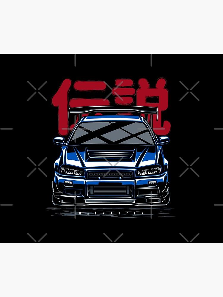 Legend. Skyline GTR R34 by OlegMarkaryan