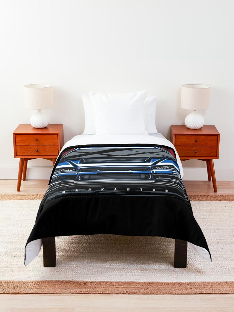Alternate view of Legend. Skyline GTR R34 Comforter