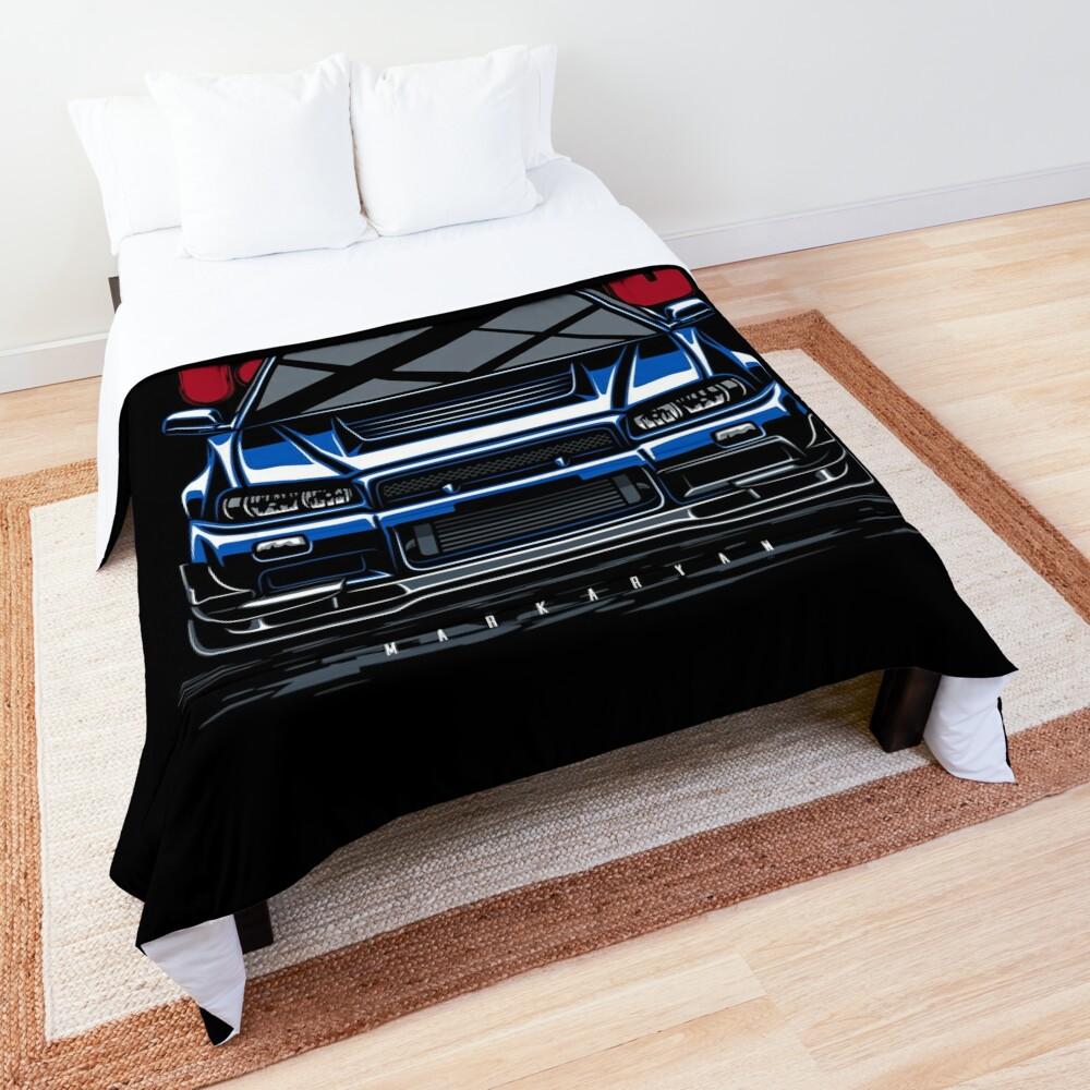 Legend. Skyline GTR R34 Comforter