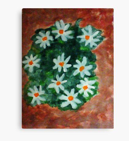 More Antique Floral, watercolor Canvas Print