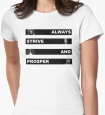 ALWAY$ $TRIVE AND PRO$PER Women's Fitted T-Shirt