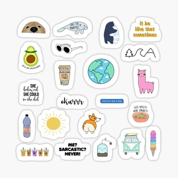 Variety Meme Pack Sticker