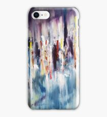 Displacement of light and colors  iPhone Case/Skin