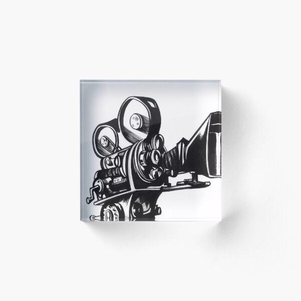 Film Camera Acrylic Block
