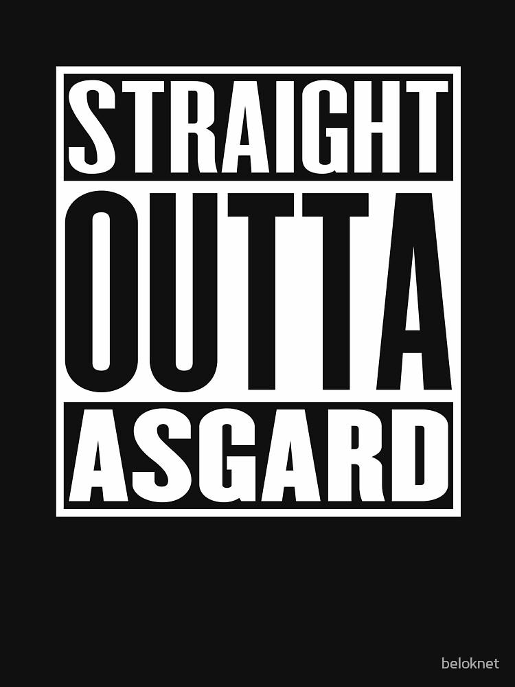 Straight Outta Asgard by beloknet