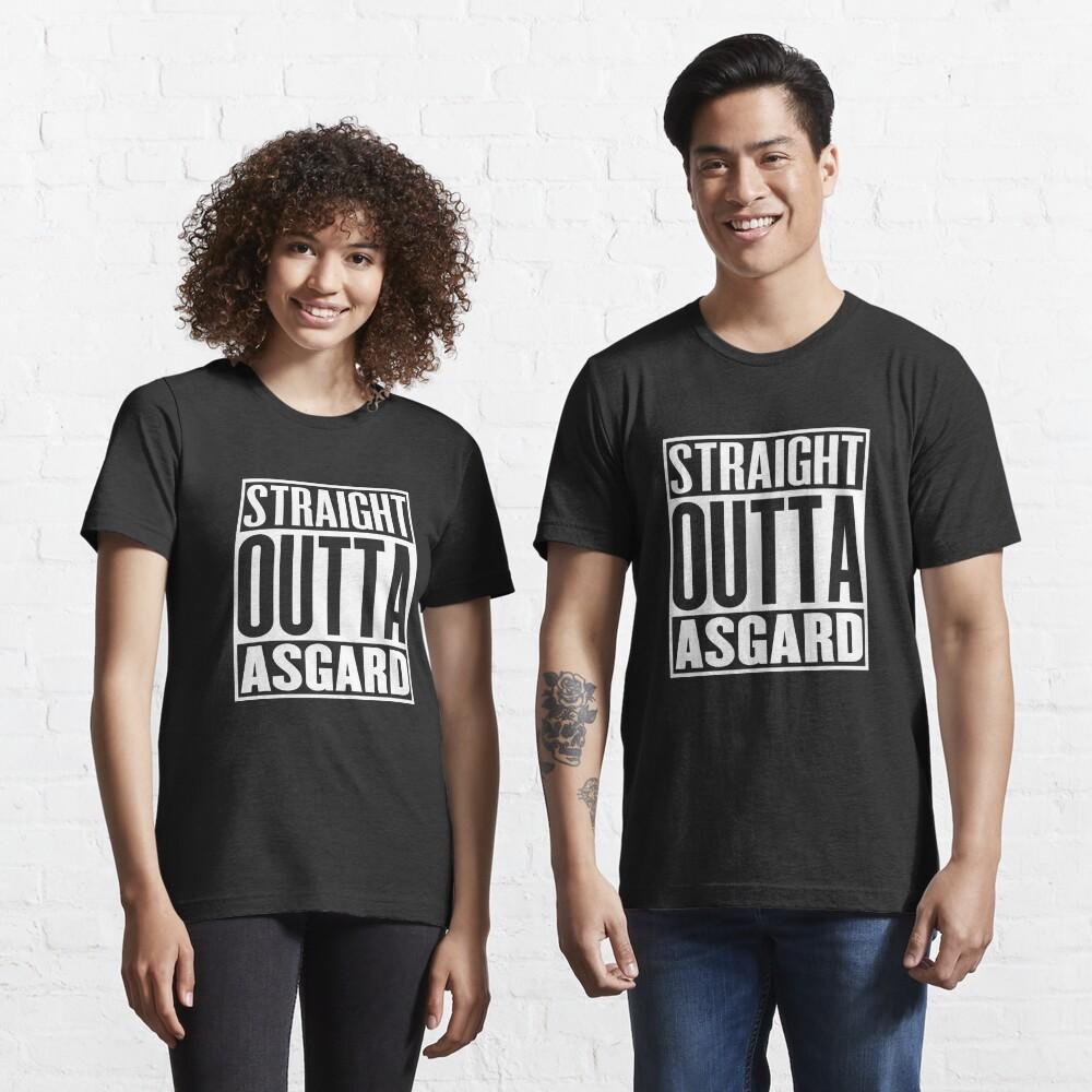 Straight Outta Asgard Essential T-Shirt