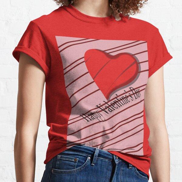 Hearts valentines day Camiseta clásica