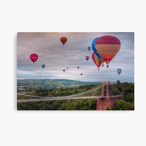 02 Bristol Balloon Fiesta Canvas Print