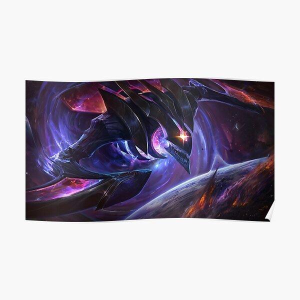 Dark Star Kha'Zix Splash Art - League of Legends Poster