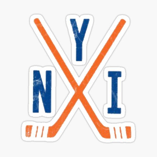 Hockey - New York Islanders - White Sticker