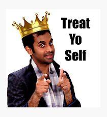 Treat Yo Self- Parks and Rec Photographic Print