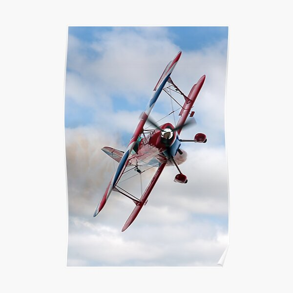 G-EWIZ Pitts Special - The Muscle Biplane Poster