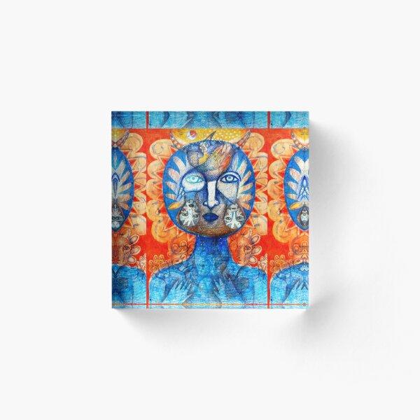 Sol Americano Acrylic Block