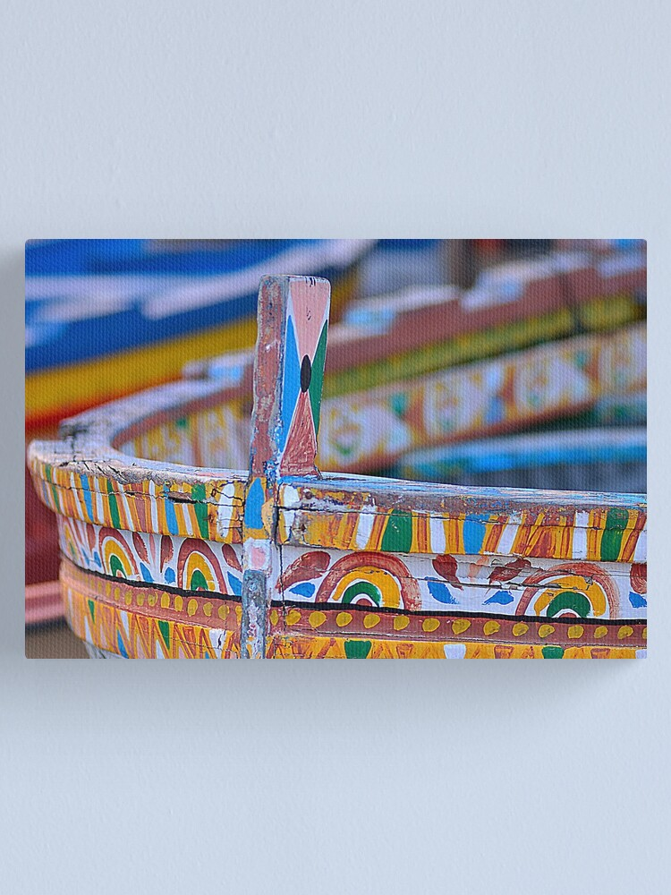Alternate view of Boat texture Canvas Print