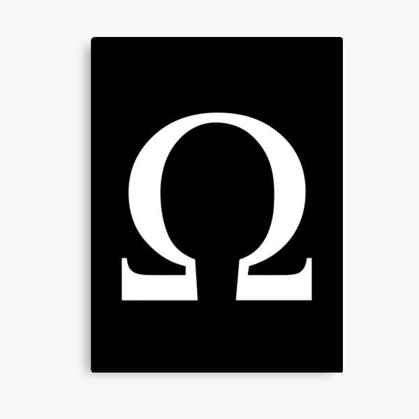 Omega Symbol Wall Art Redbubble