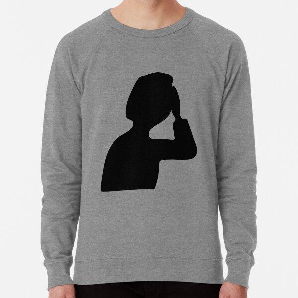 Side Facepalm Lightweight Sweatshirt