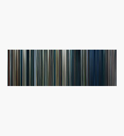 Moviebarcode: The Lord of the Rings: The Two Towers (2002) Photographic Print