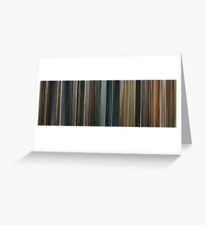 Moviebarcode: The Lord of the Rings: The Return of the King (2003) Greeting Card