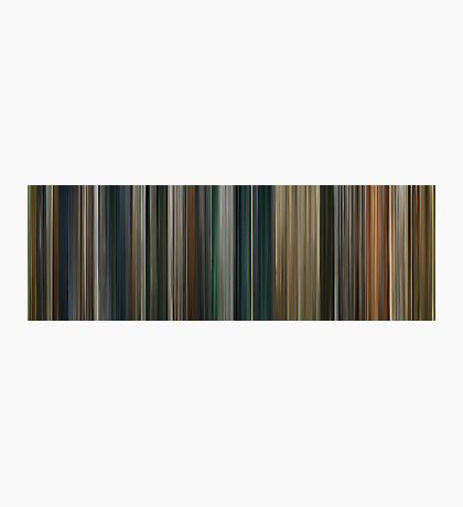 Moviebarcode: The Lord of the Rings: The Return of the King (2003) Photographic Print