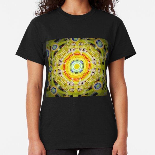 Yellow campfire dreaming  Classic T-Shirt