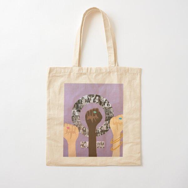obra de arte feminista Bolsa de algodón