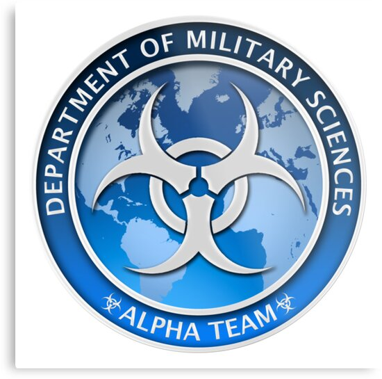 Dms Logo Alpha Team Metal Prints By Jonathan Maberry Redbubble