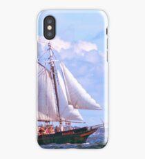 The fun ship Mary E iPhone Case/Skin